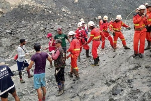Количество погибших от оползня на нефритовой шахте в Мьянме возросло до 162