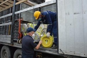 Прикарпаття отримало від Швеції гумдопомогу для відновлення після паводку