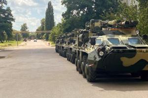 Ukrainian army gets four BTR-4E APCs