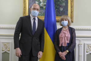 Прем'єр та постпред ПРООН обговорили епідемію COVID-19 та наслідки повеней