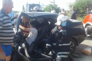 """Біля Кирилівки """"лоб у лоб"""" зіткнулися авто - постраждали четверо дітей"""