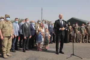 Шмыгаль почтил погибших в день освобождения Краматорска и Славянска