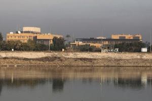 На посольство США в Багдаде совершили ракетную атаку - СМИ