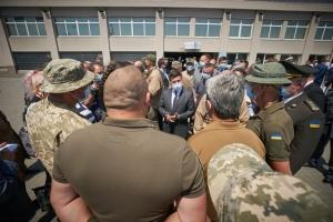 Зеленський зустрівся з представниками ветеранських організацій Одещини