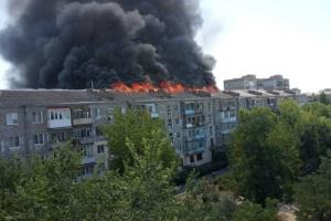 Пожар в Новой Каховке: пострадавших планируют отселить