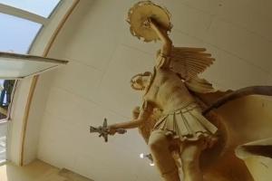 Фонтан на Володимирській гірці: створили 3D-модель Архістратига Михаїла