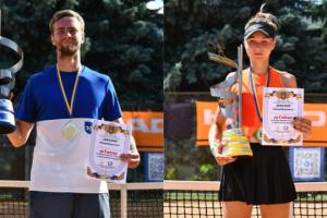 Визначилися переможці Кубка України з тенісу
