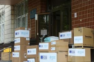 WHO, EU donate EUR 3.5 mln worth of equipment for laboratory centers in Ukraine