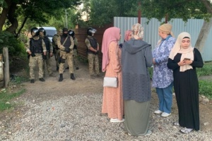 Russian security forces again raid homes of Crimean Tatars