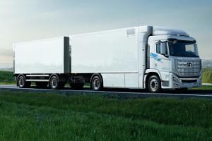 Hyundai доставив до Швейцарії перший десяток вантажівок на водні