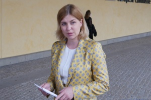 Cтефанішина обговорила ситуацію в Білорусі з головою Бюро нацбезпеки Польщі