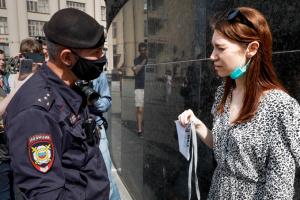 У Москві на протесті біля будівлі ФСБ затримали 7 журналістів