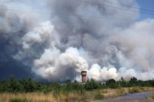 """ОБСЕ помогла согласовать с оккупантами """"тишину"""" для тушения пожаров - Наев"""