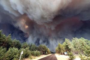 На Луганщину відправили два пожежні літаки ДСНС