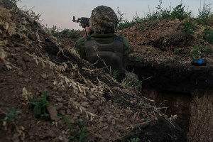 Украинские военные в зоне ООС сбили вражеский беспилотник