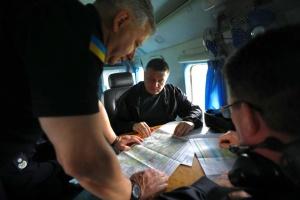Аваков, Данилов и Клименко прибыли на Луганщину