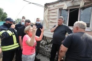 Zelensky : le gouvernement allouera des fonds aux victimes des feux de forêts dans la région de Louhansk