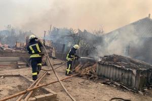 Presidente: Cada familia que perdió su hogar en el incendio en la región de Lugansk obtendrá 300.000 UAH