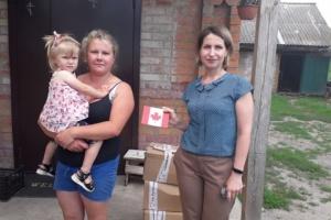 Українці Канади допомагають багатодітним родинам з Бердичівського району