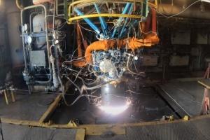 In der Ukraine neuer Raketentriebwerk erfolgreich getestet