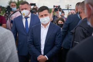 Zelensky est arrivé dans la Volhynie