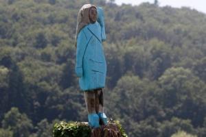 """У Словенії на День незалежності США """"спалили"""" Меланію Трамп"""