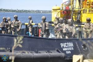 СБУ провела антитерористичні навчання на морі
