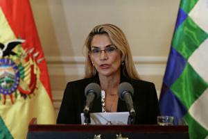 Временный президент Боливии заболела COVID-19
