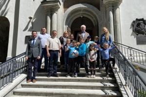 «Веселі канікули з Богом»: Посол у Литві відвідав українських дітей у літньому таборі