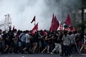 В Афинах начались массовые протесты из-за нового закона о демонстрациях