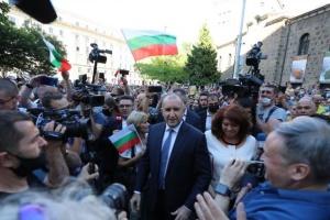 Антиправительственный протест в Болгарии возглавил президент