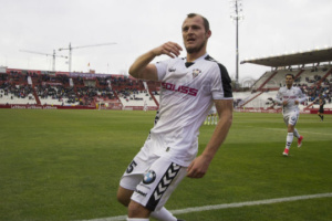Зозуля отличился голом в матче испанской футбольной Сегунды