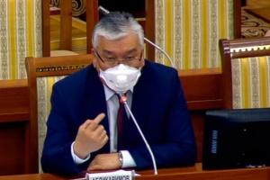У главы Минздрава Кыргызстана обнаружили коронавирус