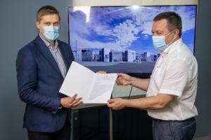 У Дніпрі передали інвестору землю під будівництво нового терміналу аеропорту
