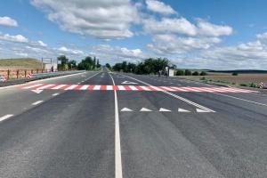 На Одещині завершили капремонт ділянки автотраси, що з'єднує шість районів