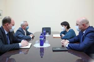 МЗС Грузії знову викликав посла України після заяв Саакашвілі