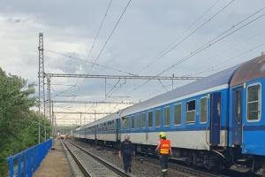 У Празі зіштовхнулися два потяги