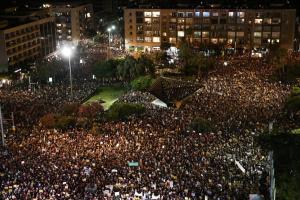 В Израиле предприниматели протестовали против повторного карантина