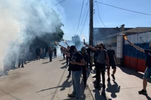 Нацкорпус і прибічники Шарія почубились у Харкові: є постраждалі