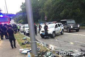 Смертельна ДТП у Києві з дітьми: водія Mersedes затримали