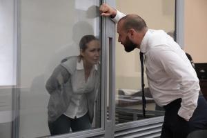 Без тримання під вартою: адвокати Кузьменко просять змінити їй запобіжний захід