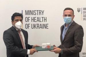 Індія передала Україні 50 тисяч капсул препарату для лікування COVID-19