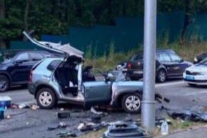 """Смертельна ДТП під Києвом: водію Mercedes """"світить"""" до 10 років"""