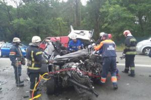 Смертельное ДТП под Киевом: пьяный водитель Mersedes не имел при себе прав