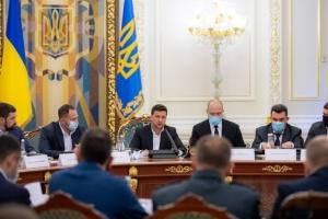 """Зеленський доручив скласти план розширення """"Великого будівництва"""" на наступний рік"""