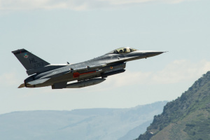 В Штатах снова разбился истребитель F-16