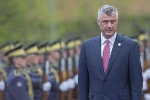 В Гааге по делу о военных преступлениях допросили косовского президента