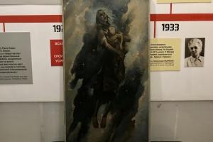 Первую в мире картину о Голодоморе покажут на выставке в Киеве