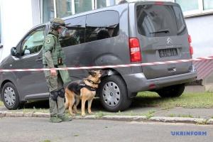 Los guardias de la Embajada de Israel y la Policía Nacional realizan ejercicios conjuntos