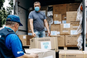 WHO to deliver over 1,500 liters of disinfectant to 53 hospitals in Ukraine